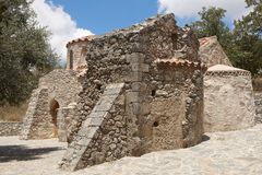 Agios Ioannis ancient church in Gerakari. Crete. Greece Royalty Free Stock Photo