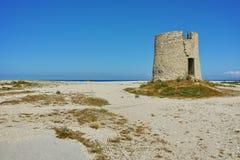 Agios Ioannis Beach cerca de la ciudad de Lefkada Fotos de archivo libres de regalías