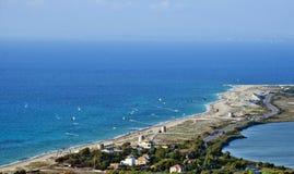 Agios Ioannis Beach - Lefkada Royalty Free Stock Photos