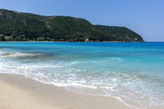 Agios Ioannis Beach, Lefkada,  Ionian Islands Royalty Free Stock Photos