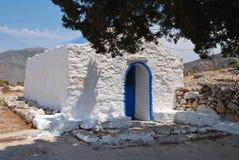 Agios Ioannis church on Tilos Royalty Free Stock Photos