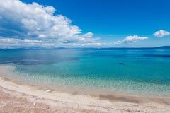 Agios Ioannis Peristeron beach Royalty Free Stock Image