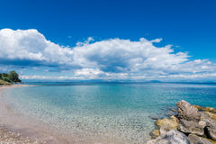 Agios Ioannis Peristeron beach Stock Photos