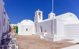 Agios Ioannis Siderianos-Kloster, Milos Insel, Griechenland Lizenzfreie Stockfotos