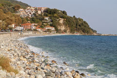 Agios Ioannis village at Pelion, Greece Royalty Free Stock Photos