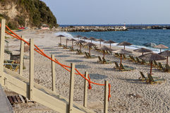 Agios Ioannis village at Pelion, Greece Royalty Free Stock Images