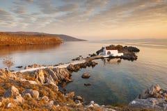 Agios Isidoros, ilha de Chios fotos de stock