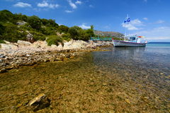 Agios Konstantinos bay. Samos island. Greece Royalty Free Stock Image