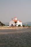 agios kyrktar spiridonas för den elafonisosgreece ön Royaltyfri Foto