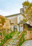 Agios Lavrendios village Stock Image