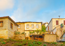 Agios Lavrendios village Stock Photo