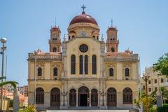 Agios Minas Cathedral Heraklion Royalty Free Stock Photos