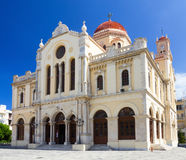 Agios Minas church Stock Photos