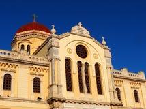 Agios Minas Church In Heraklion Greece Royalty Free Stock Images