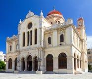 Agios Minas kyrka arkivfoton