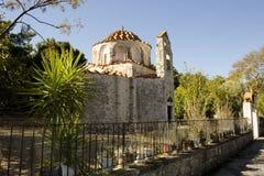 Agios Nicholaos, Fountoukli Immagine Stock