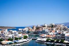 Agios Nicholaos Stock Images