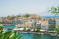Agios Nicolás, Crete fotos de archivo libres de regalías