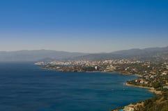 Agios Nicolás, Crete, Grecia. imagen de archivo