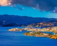 Agios Nicolás, Crete, Grecia fotos de archivo libres de regalías