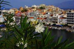 Agios Nicolás, Crete, Grecia foto de archivo libre de regalías