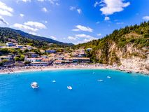 Agios Nikitas Lefkada Greece Stockfoto
