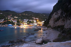Agios nikitas, lefkas island, Greece Royalty Free Stock Image