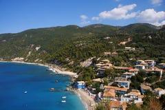 Agios nikitas, lefkas island, Greece Royalty Free Stock Images