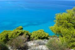 Agios Nikitas marino ionico immagini stock libere da diritti