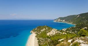 Agios Nikitas, Milos Beach - Lefkada, Greece Royalty Free Stock Photo