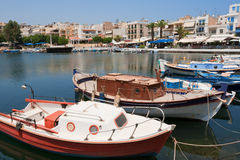 Agios Nikolaos Royalty Free Stock Photography
