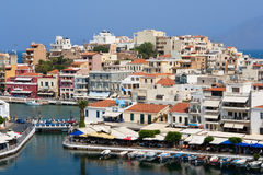 Agios Nikolaos Stock Photography