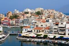 Agios Nikolaos Stock Photography