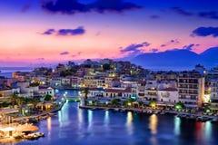 Agios Nikolaos. stock photography
