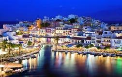 Agios Nikolaos. Stock Photo
