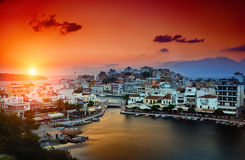 Agios Nikolaos Royalty Free Stock Images