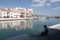 Agios of Nikolaos Royalty Free Stock Photography