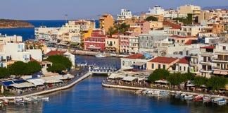 Agios Nikolaos Zdjęcie Royalty Free
