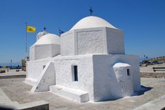 Agios Nikolaos, Aegina island Royalty Free Stock Photos