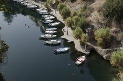 Agios nikolaos bay. Greece Royalty Free Stock Photography