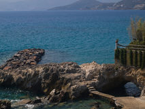 Agios Nikolaos Beach image libre de droits