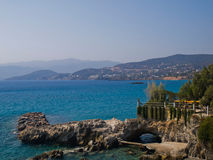 Agios-nikolaos Beach zagorod Royalty Free Stock Photo