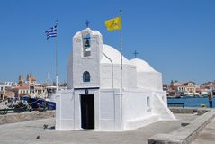 Agios Nikolaos church, Aegina Royalty Free Stock Photo