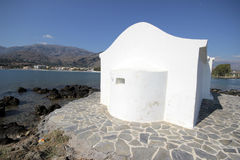 Agios Nikolaos church, Crete Stock Image