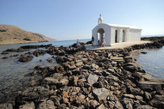 Agios Nikolaos church, Crete Stock Images