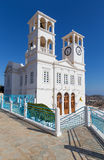 Agios Nikolaos church in Tripiti village, Milos island, Greece Royalty Free Stock Images
