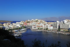 Agios Nikolaos City, Crete, Greece Royalty Free Stock Images