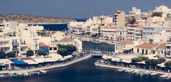 Agios Nikolaos, Crète Grèce photo libre de droits