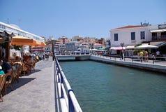 Agios Nikolaos, Crete, Grecja. Fotografia Stock