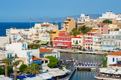 Agios Nikolaos. Crete, Greece Stock Images